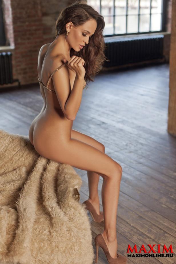 Голая Анна Самохина на эротических фото  Знаменитые и