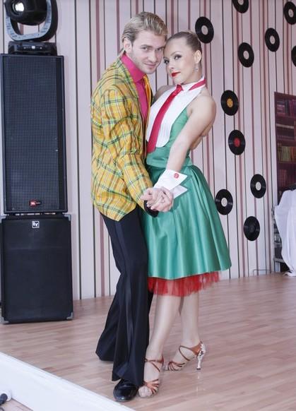 Дмитрий Дикусар и Алена Шоптенко