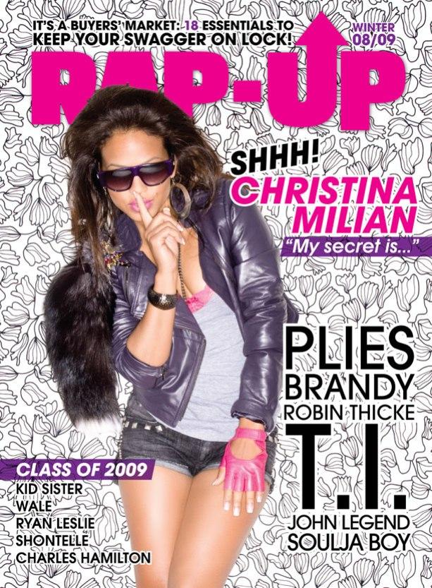 Кристина Милиан на обложках журналов