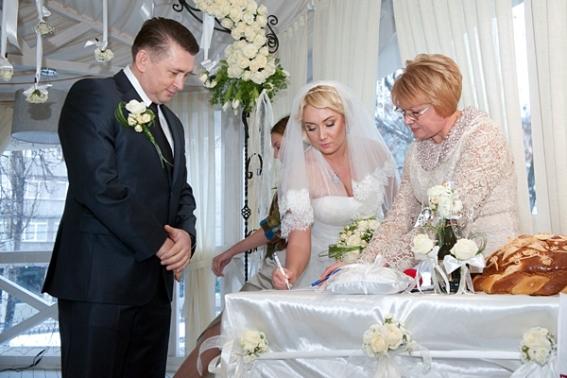 Свадьба Натальи Розинской и Николая Мельниченко