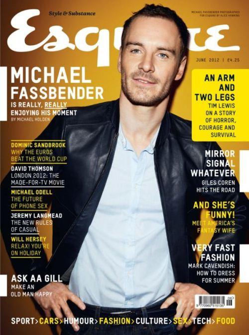Майкл Фассбендер на обложках журналов