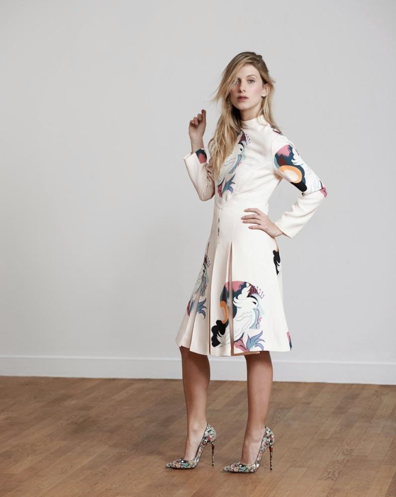 Мелани Лоран в фотосессии Эрика Гиймана для S Moda El Pais, февраль 2014
