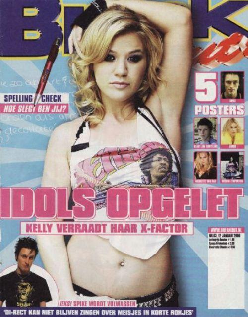 Келли Кларксон на обложках журналов