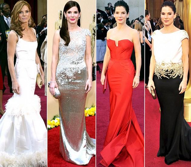Эволюция нарядов звезд на церемониях вручения премии Оскар