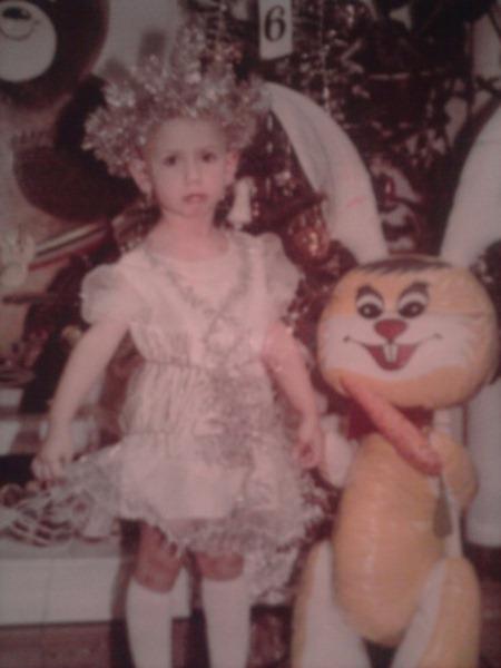 Леся Никитюк в детстве