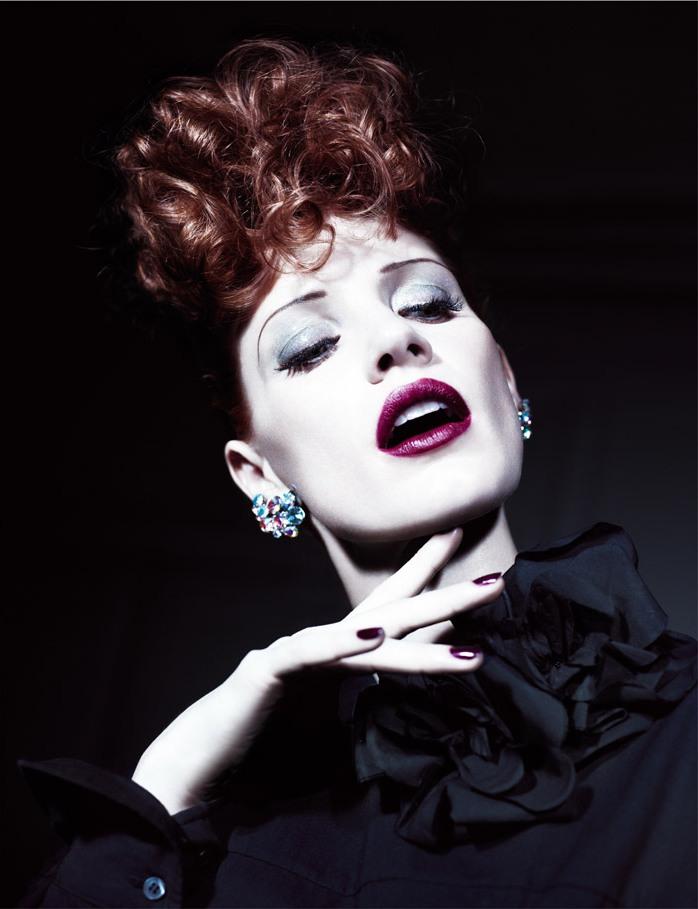 Джессика Честейн в фотосессии для AnOther Magazine