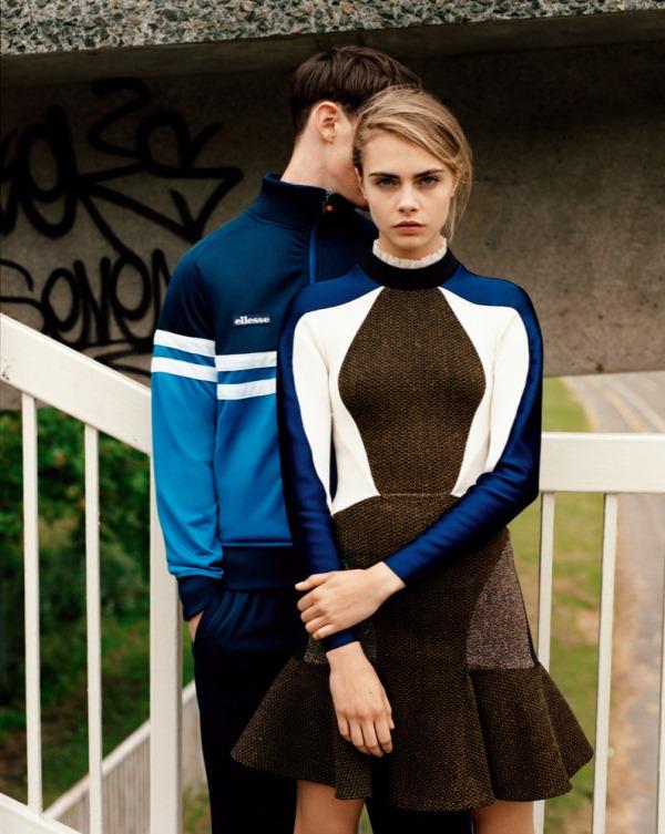 Кара Делевинь для Purple Fashion Magazine FW 2013
