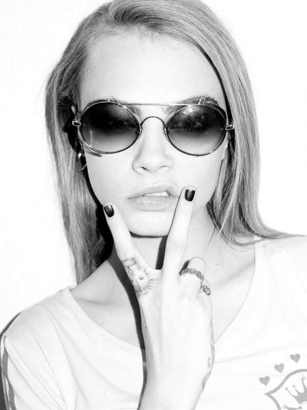 Кара Делевинь в фотосессии Терри Ричардсона, октябрь 2013