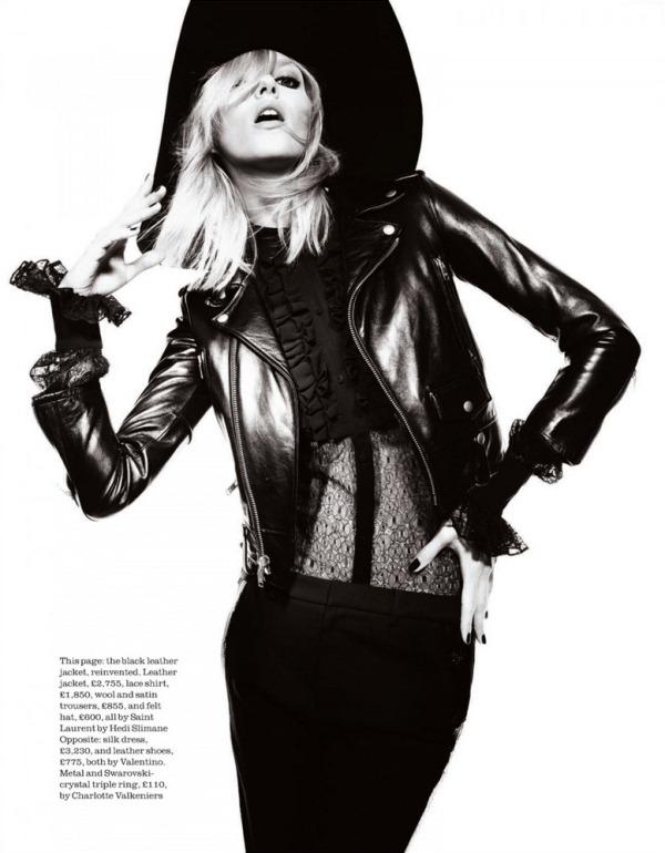 Аня Рубик для Elle UK