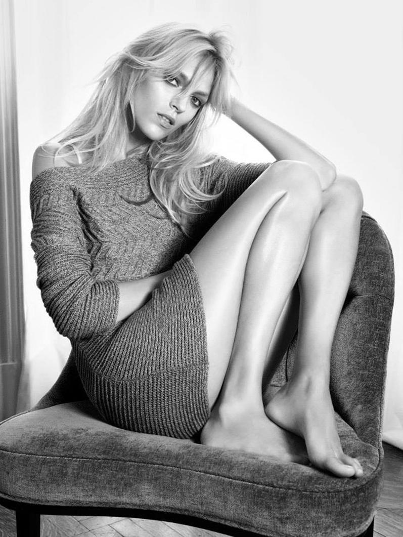 Аня Рубик в фотосессии Марио Сорренти для рекламной кампании американского бренда Nic + Zoe  осень/зима2013