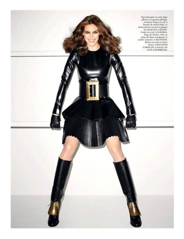 Хилари Рода для Vogue Paris