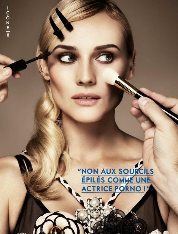 Дайан Крюгер для Glamour Paris, ноябрь 2013