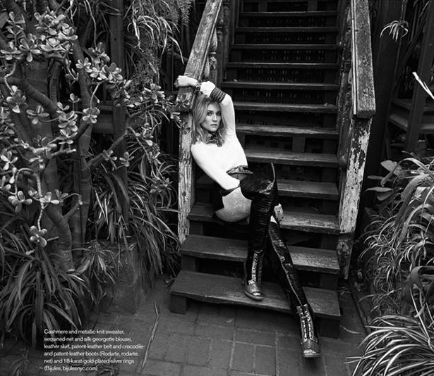 Дайан Крюгер для Elle Canada, сентябрь 2015