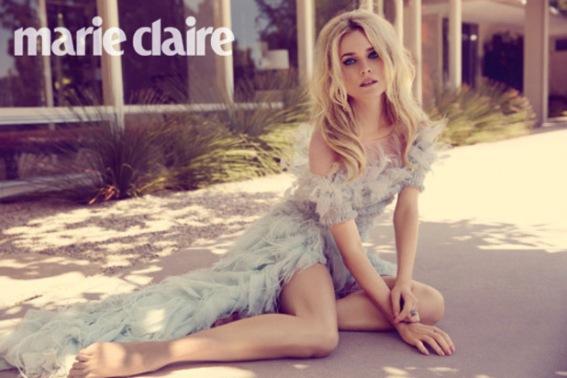 Дайан Крюгер для августовского выпуска журнала MARIE CLAIRE UK