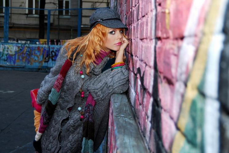 Анастасия Стоцкая: Full Fashion Graffiti