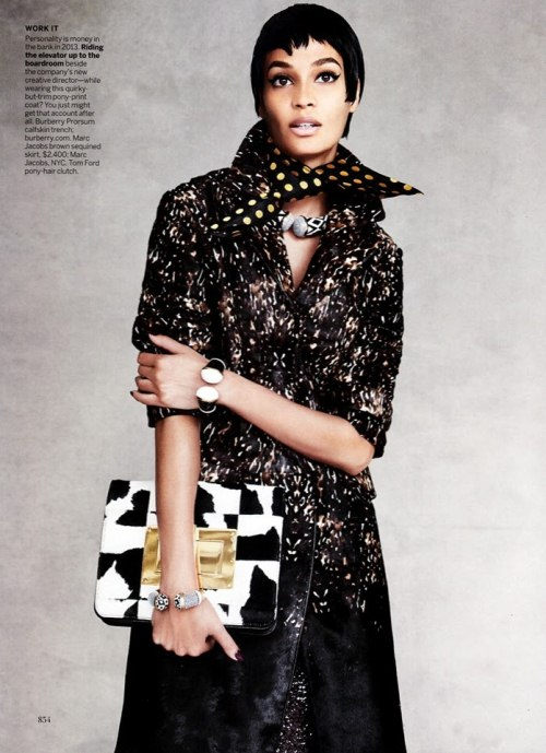 Джоан Смоллс для Vogue US, сентябрь 2013