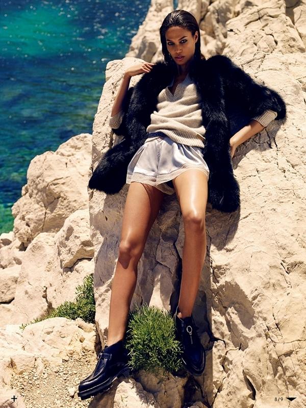 Джоан Смоллс для Vogue Japan, октябрь 2013