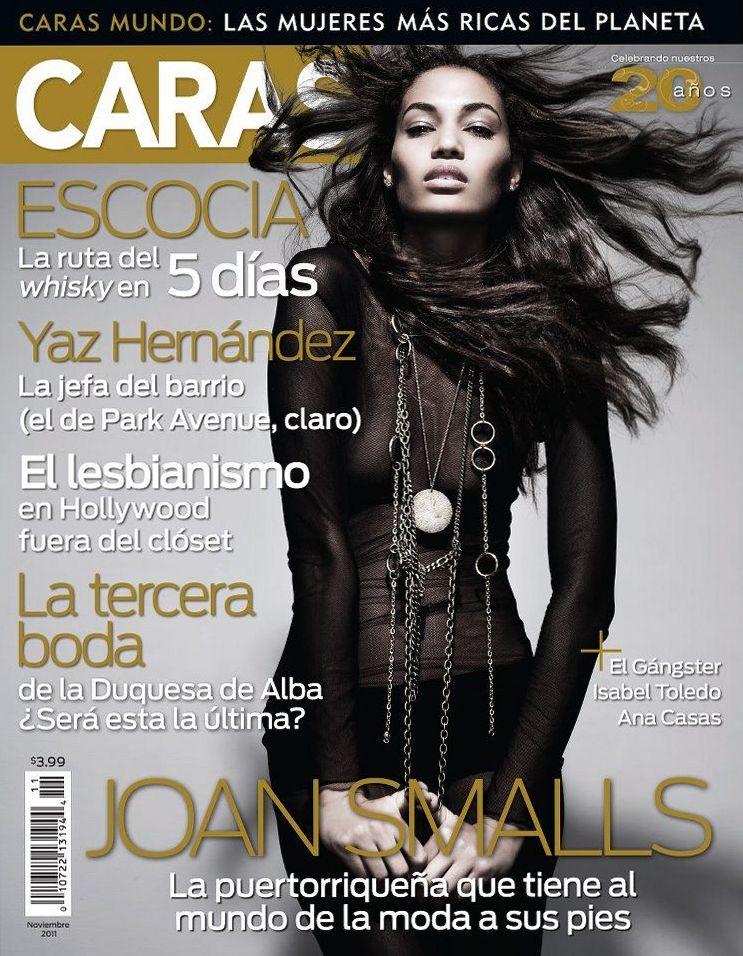 Джоан Смоллс на обложках журналов
