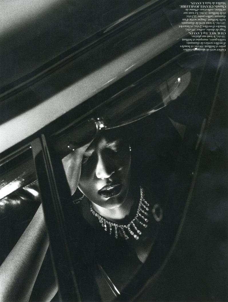 Джоан Смоллс для журнала VOGUE Paris, июнь/июль 2013