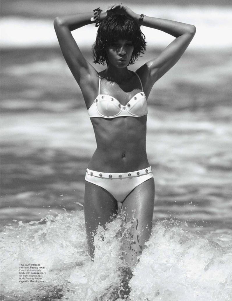 Джоан Смоллс для журнала W, июнь/июль 2013