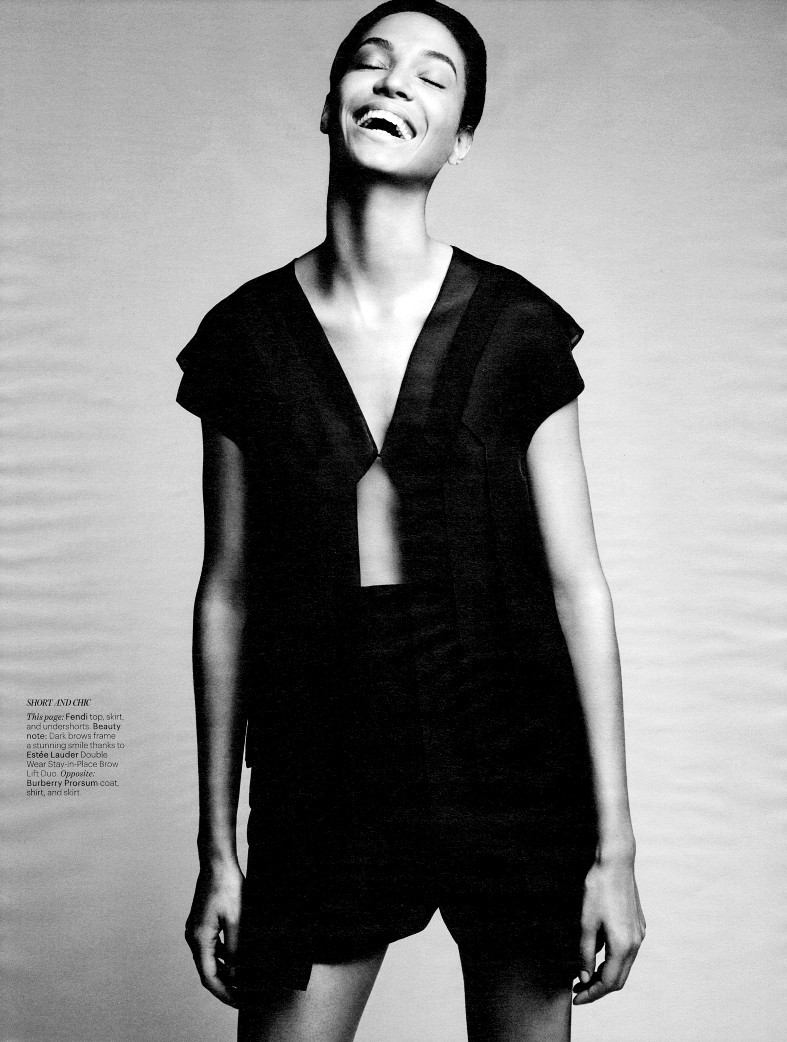 Джоан Смоллс и Джордан Данн для W Magazine USA, февраль 2014