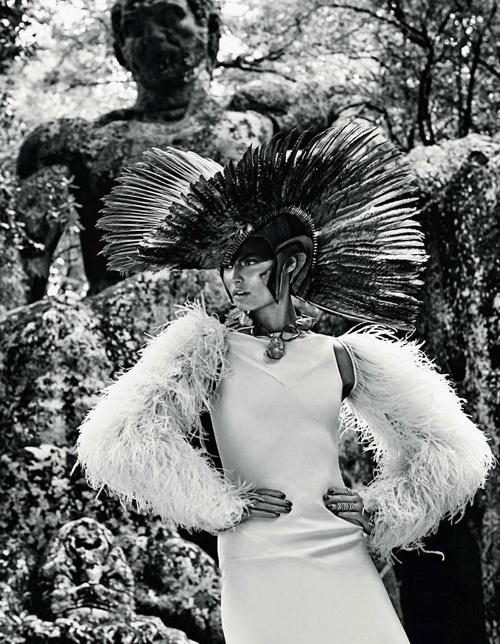 Магдалена Фраковяк в фотосессии Джампаоло Сгура для Vogue Japan, май 2014