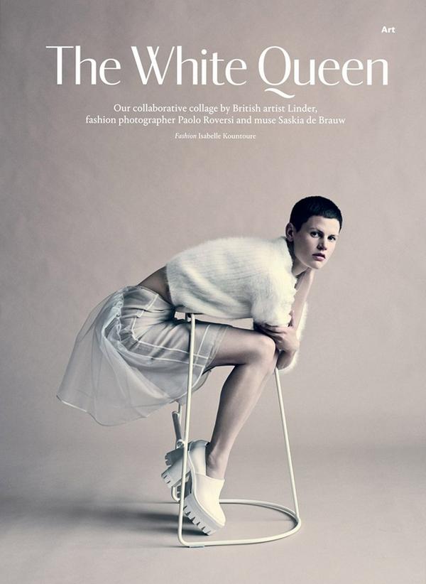 Саския де Брау для Wallpaper, сентябрь 2013