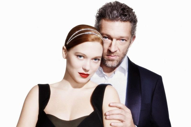 Леа Сейду и Венсан Кассель для L'Express Styles Magazine France, февраль 2014