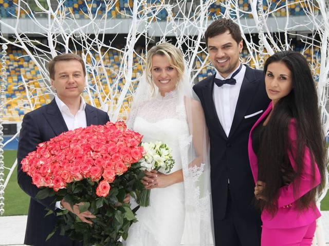Свадьба Константина Евтушенко и Натальи Добрынской