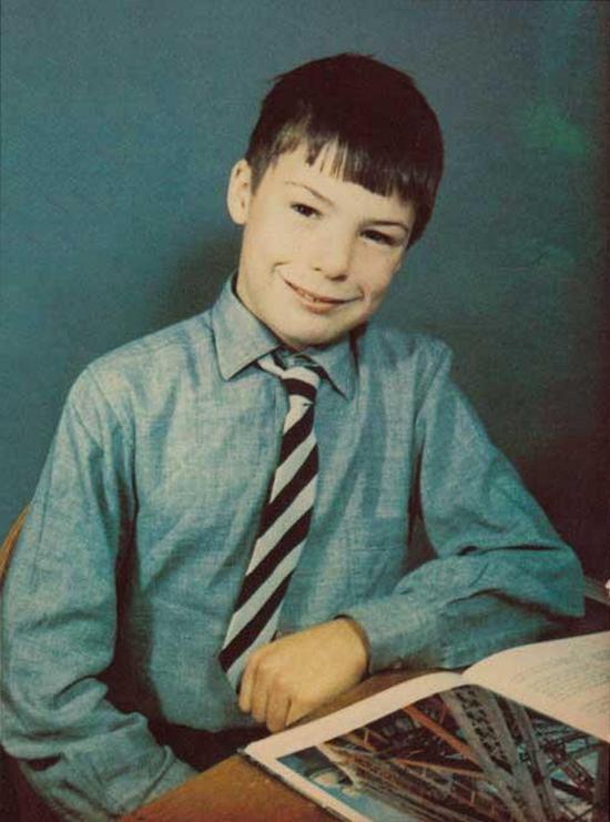15-летний Сид Вишес во время учебы в школе Clissold Park в Лондоне, 1972 год