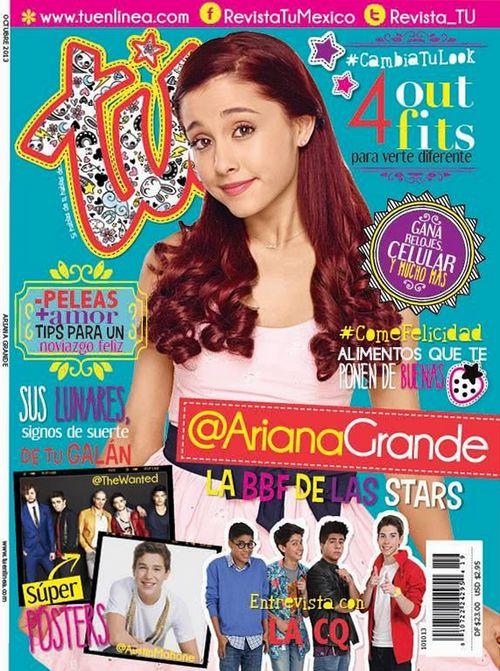 Ариана Гранде на обложках журналов