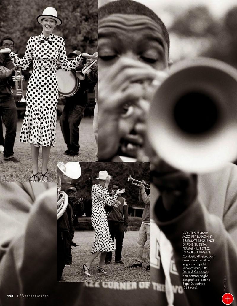 Тони Гаррн для Elle Italia, февраль 2015