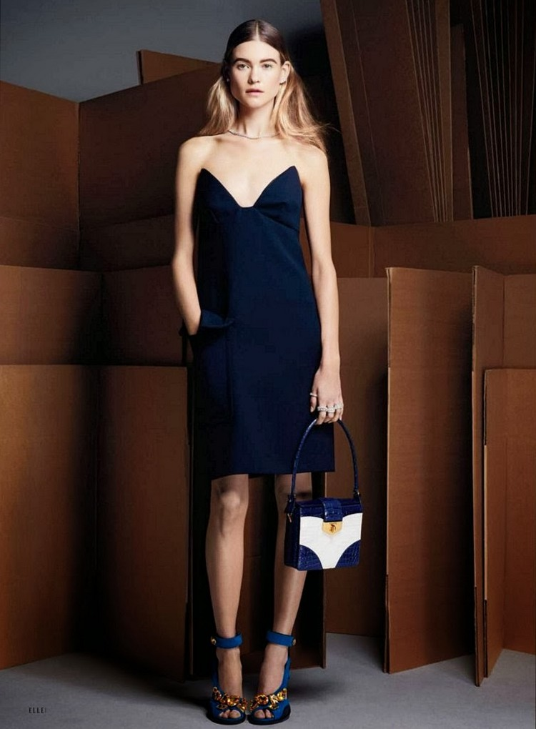 Бехати Принслу для Elle US, март 2014