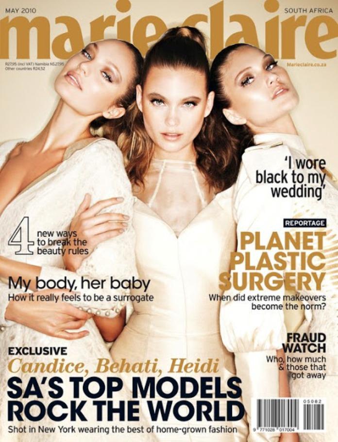 Бехати Принслу на обложках журналов