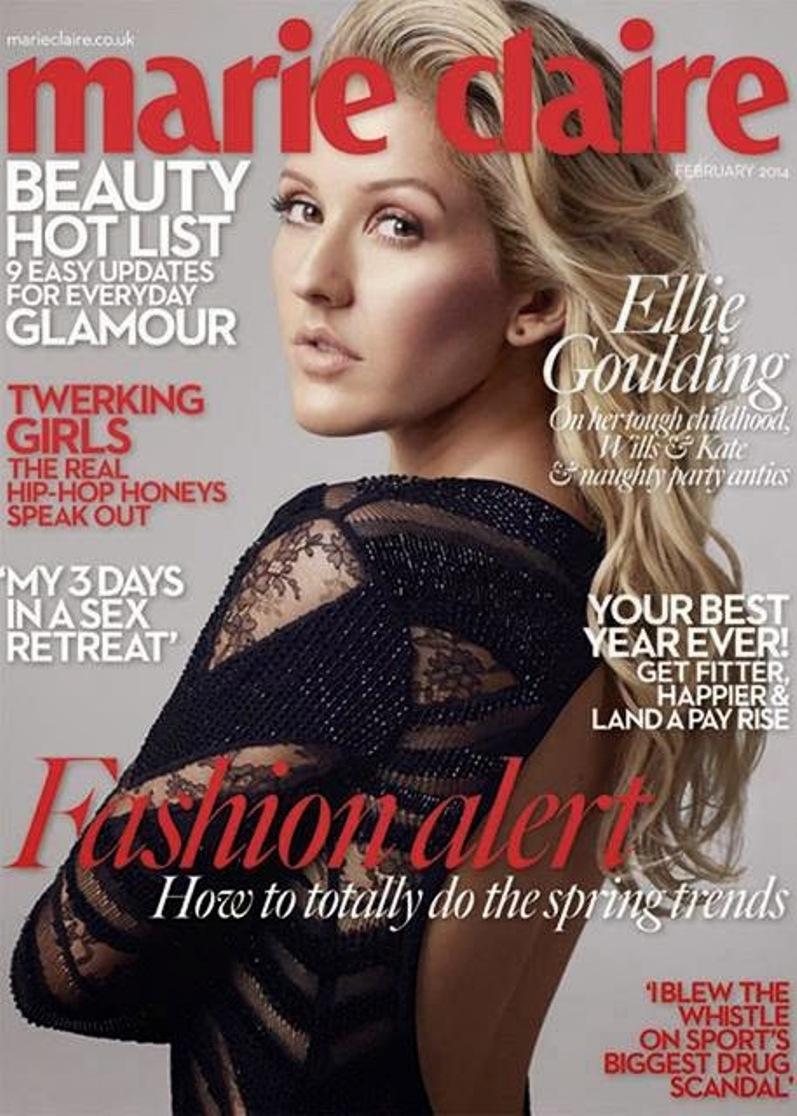 Элли Голдинг для Marie Claire UK, февраль 2014