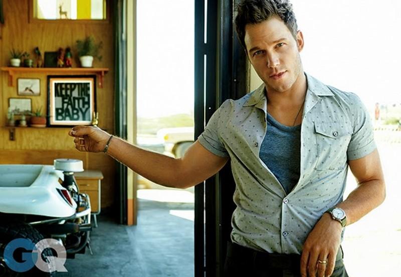 Крис Прэтт для GQ, июнь 2015