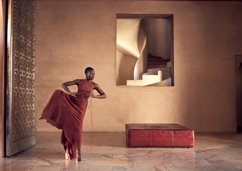 Люпита Нионго в фотосессии Микаэля Янссена для журнала Vogue US, июль 2014