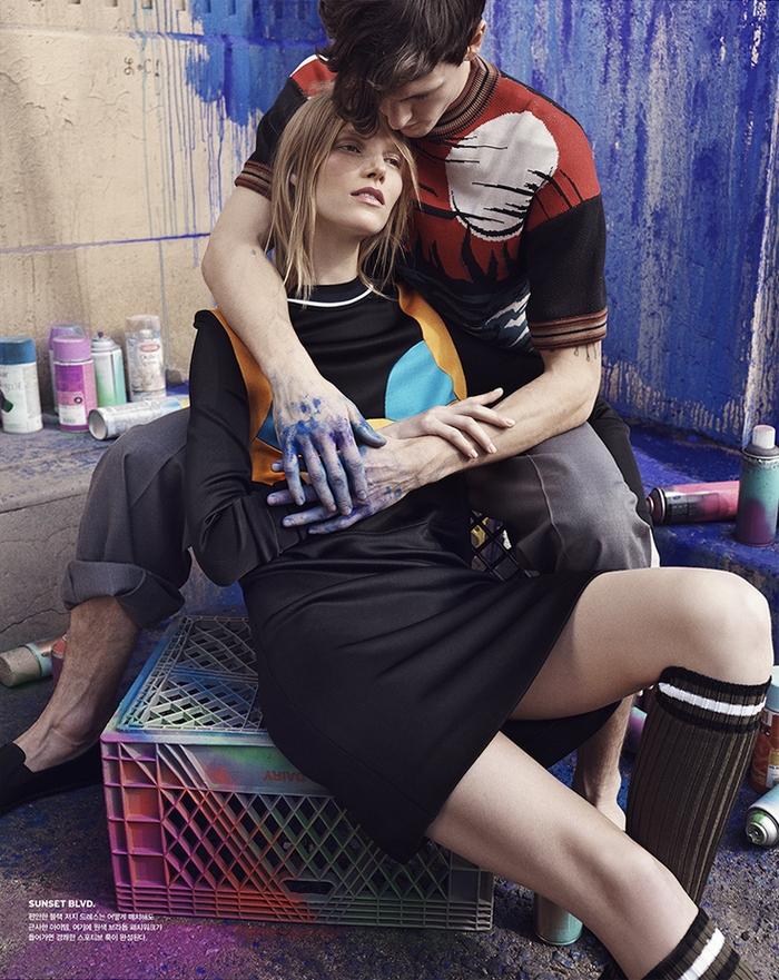 Суви Копонен для Vogue Korea, апрель 2014