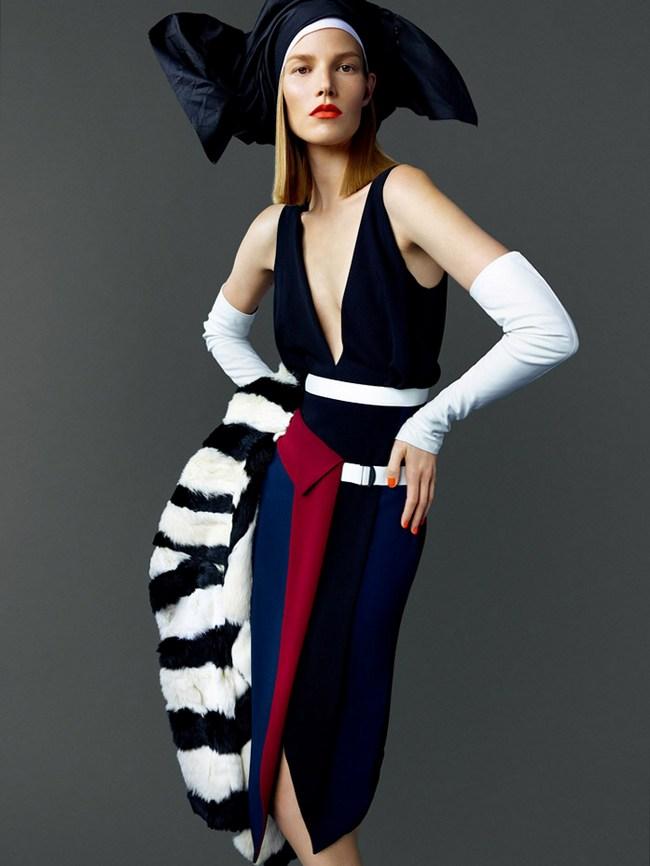 Суви Копонен в фотосессии Марио Тестино для Vogue Japan, ноябрь 2014