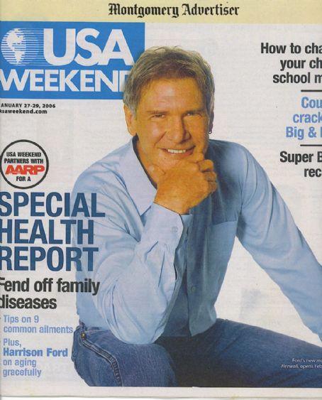 Харрисон Форд на обложках журналов