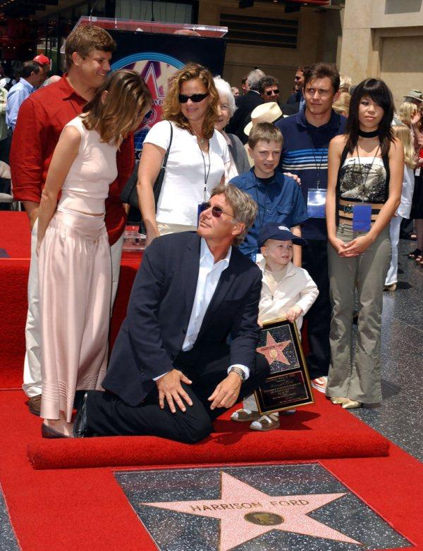 Звезда Харрисона Форда на Аллее славы в Голливуде