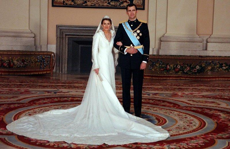 Семья Филиппа VI и Летисии