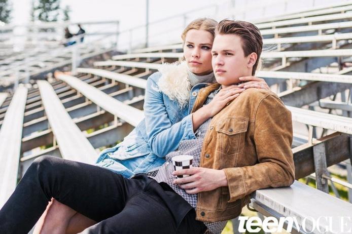 Энсел Элгорт для Teen Vogue, сентябрь 2015