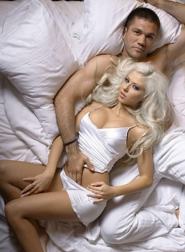 Кубрат Пулев и его девушка Андреа