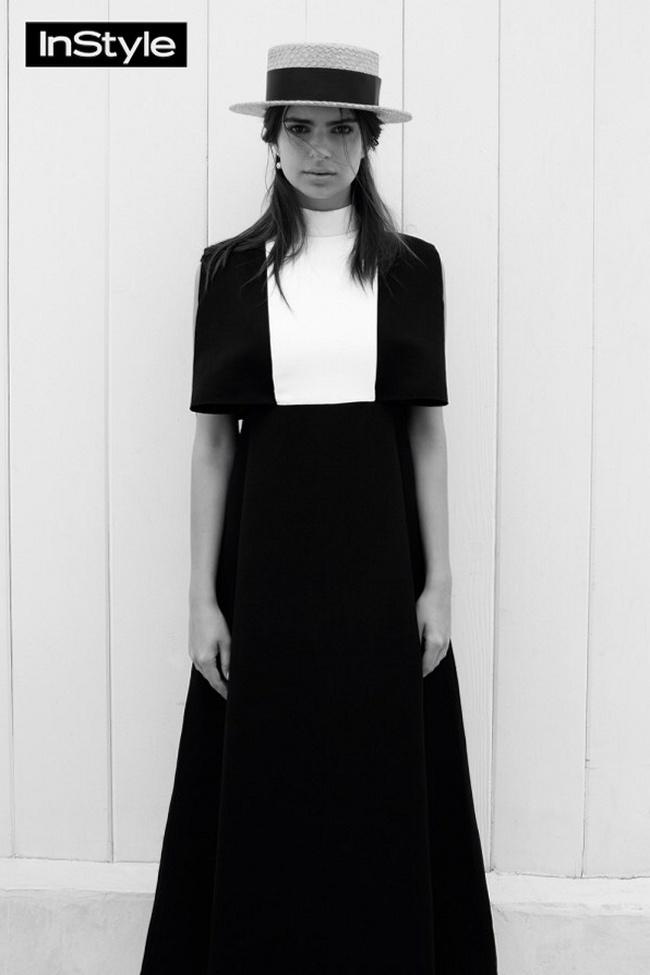 Эмили Ратажковски для InStyle UK, октябрь 2015