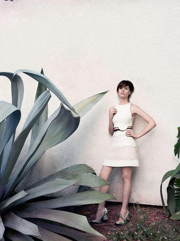 Фелисити Джонс для C California Style, март 2015