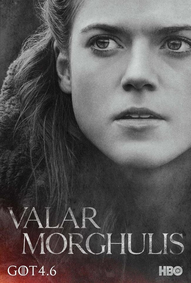 Характер-постеры 4 сезона сериала «Игра престолов»