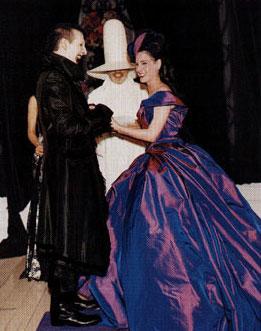 Свадьба: Мэрилина Мэнсона и Диты фон Тиз