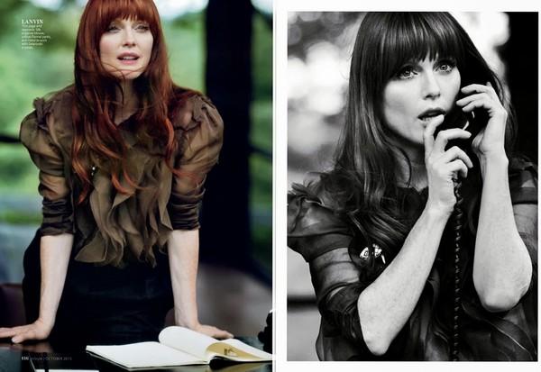 Джулианна Мур для InStyle, октябрь 2013