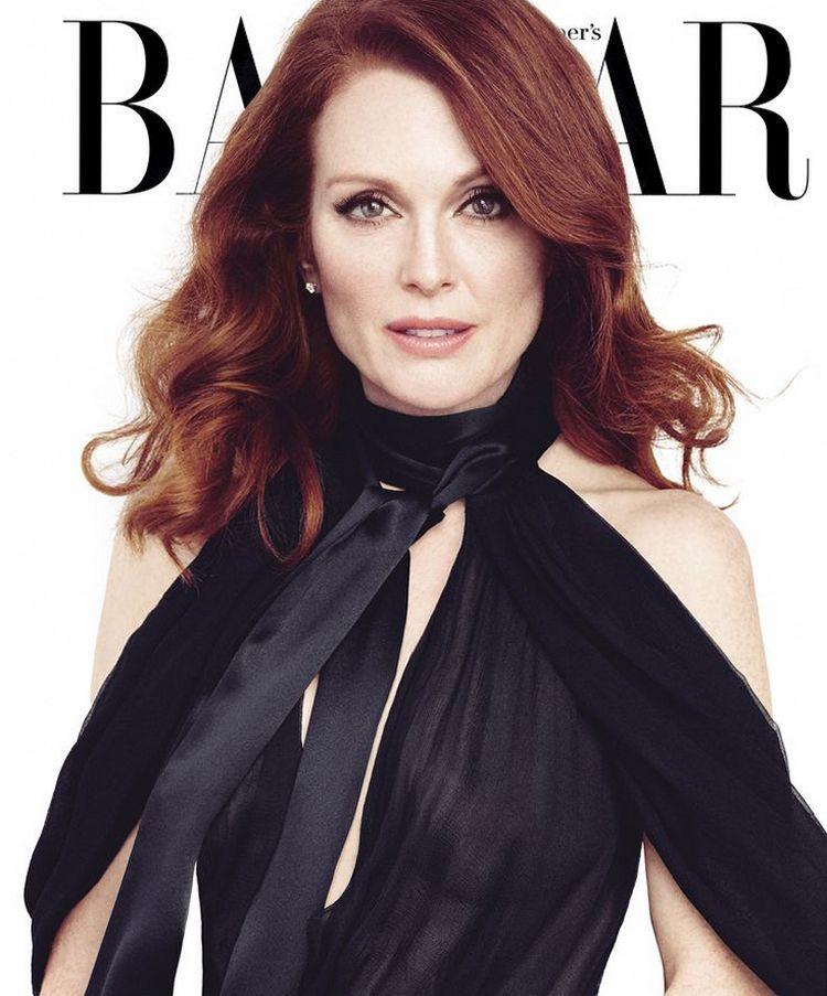 Джулианна Мур для Harper's Bazaar, апрель 2015